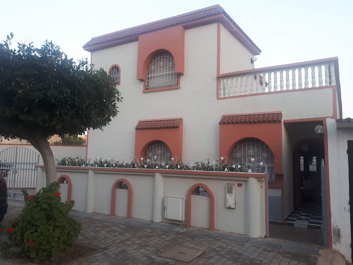 Villa. La méditerranée.