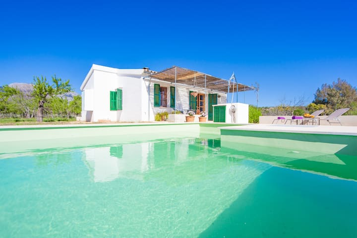 SES PLANES - ADULTS ONLY (CA NA FAUSTINA) - Villa with private pool in SELVA. Free WiFi