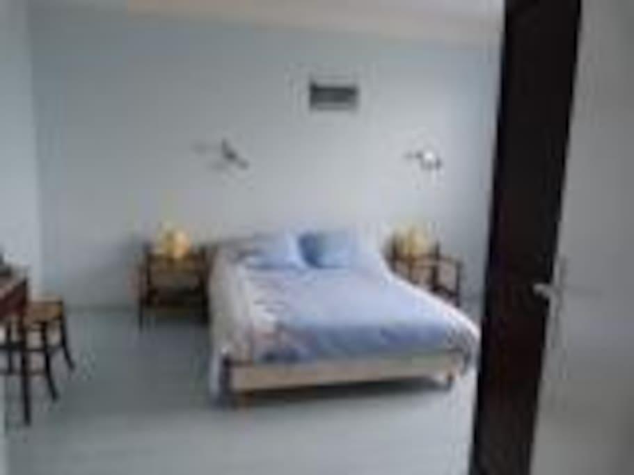 Chambre 1 bleue