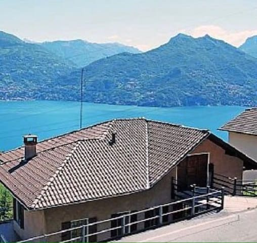 Apartment with view of Lago di Como - Plesio - Apartment
