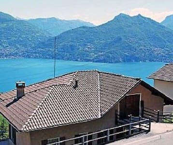 Apartment with view of Lago di Como - Plesio - Appartement