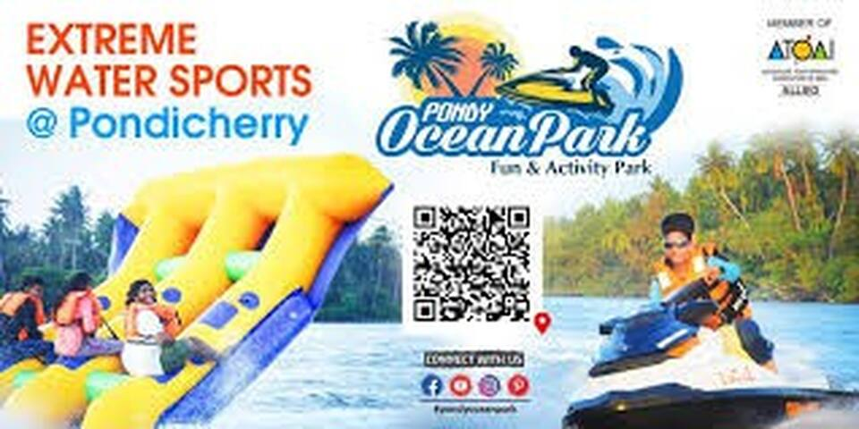 Ocean Park water sports and many more adventures