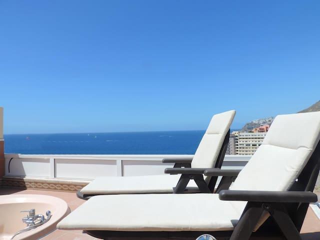 Villa Mar con vistas espectaculares .Zona Anfi