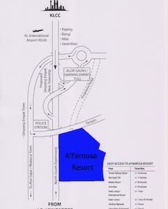 Malacca A'Formosa D'Savoy apartment - Alor Gajah - Huoneisto