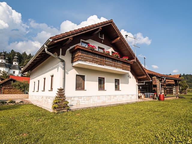 Cosy Mountain View House in Ljubno ob Savinji