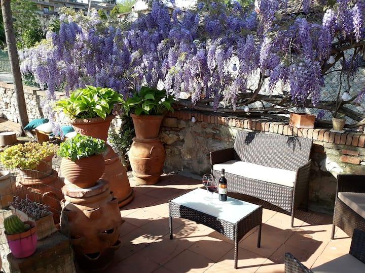 """L'Antico Giardino"" Appartamento Impruneta Chianti"