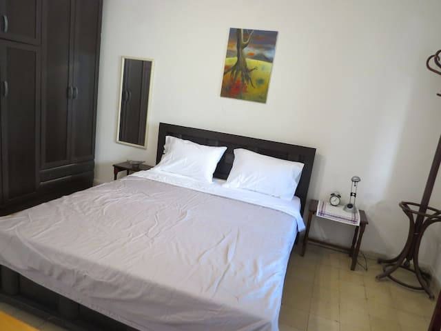 Clean spacious private bedroom, near Bahai Gardens