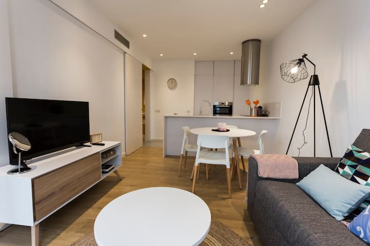 Innovador apartamento en el Barrio Gracia