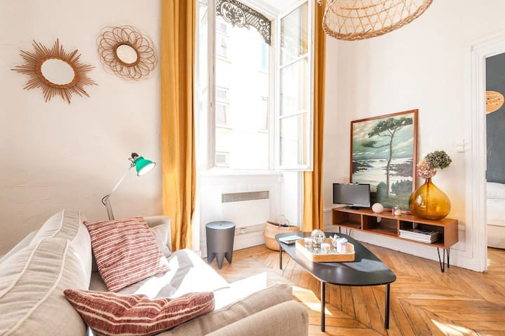 SUMPTUOUS 47SQM APARTMENT IN THE HEART OF LYON