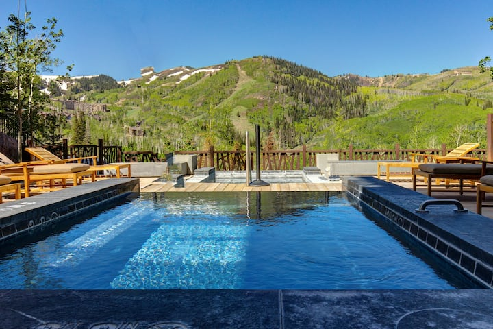 Luxury ski-in/ski-out retreat w/ unparalleled style & resort spas/gym/ski valet!