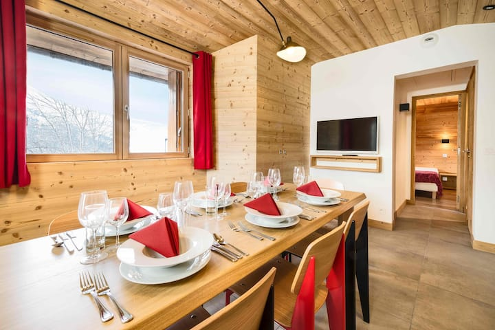 Chalet Arbe at the heart of Meribel Village