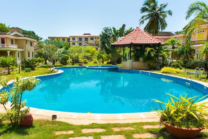 Luxurious 2BHK@Saudades Majorda,Goa - Majorda - Apartament