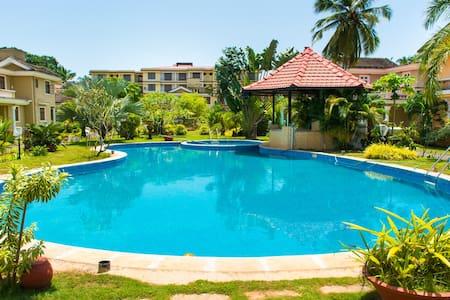 Luxurious 2BHK@Saudades Majorda,Goa - Majorda - Lakás