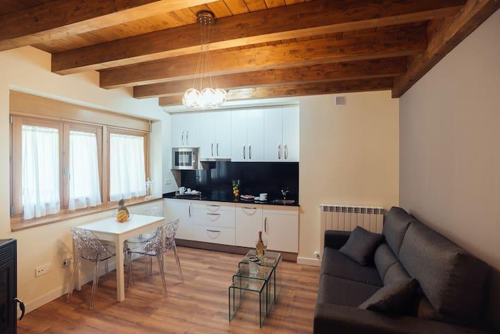 Salón - Cocina Apartamento