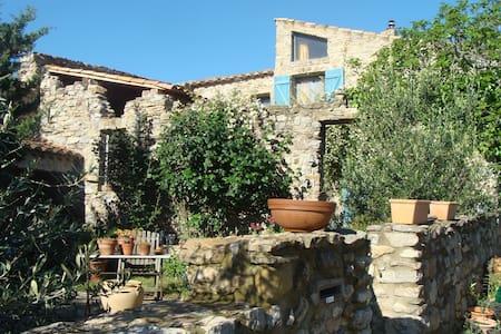 Maison de charme - Cascastel-des-Corbières - Dom