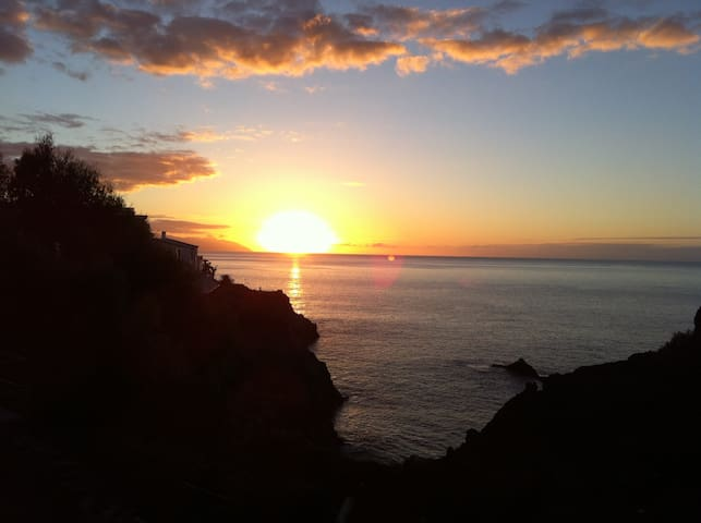 Amazing Sunset and Views of the los Gigantes. - Santiago del Teide - Apartament
