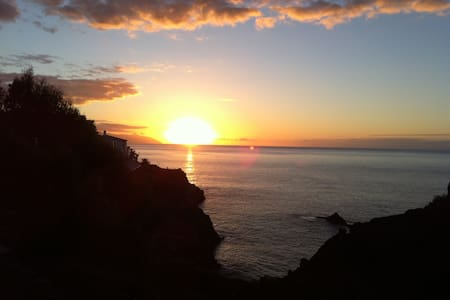 Amazing Sunset and Views of the los Gigantes. - Santiago del Teide - Apartamento