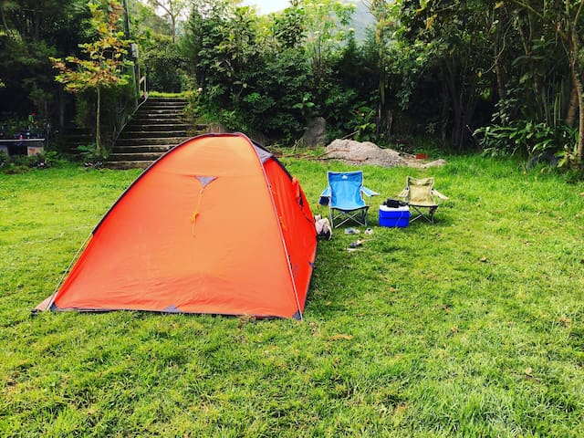 Unique camping experience