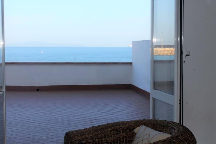 La terrazza sulla spiaggia - Porto Torres - Haus