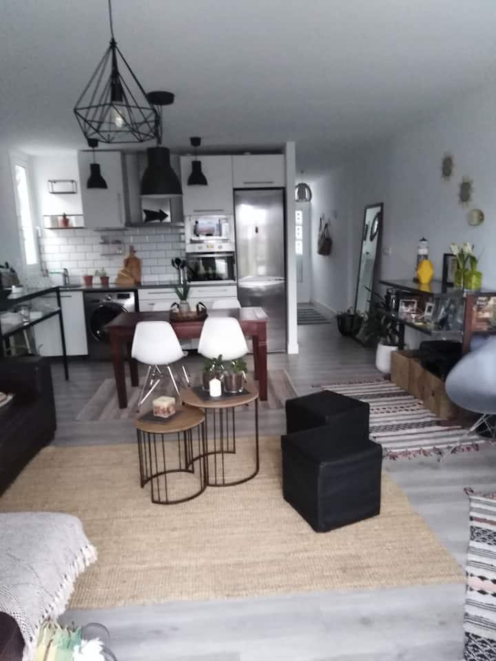 Coqueto apartamento para parejas