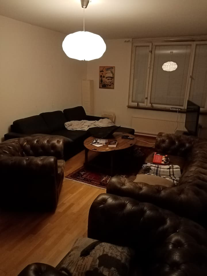 Cozy apartment just outside central Stockholm