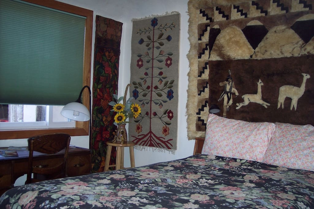 Flower Room, with tapestries