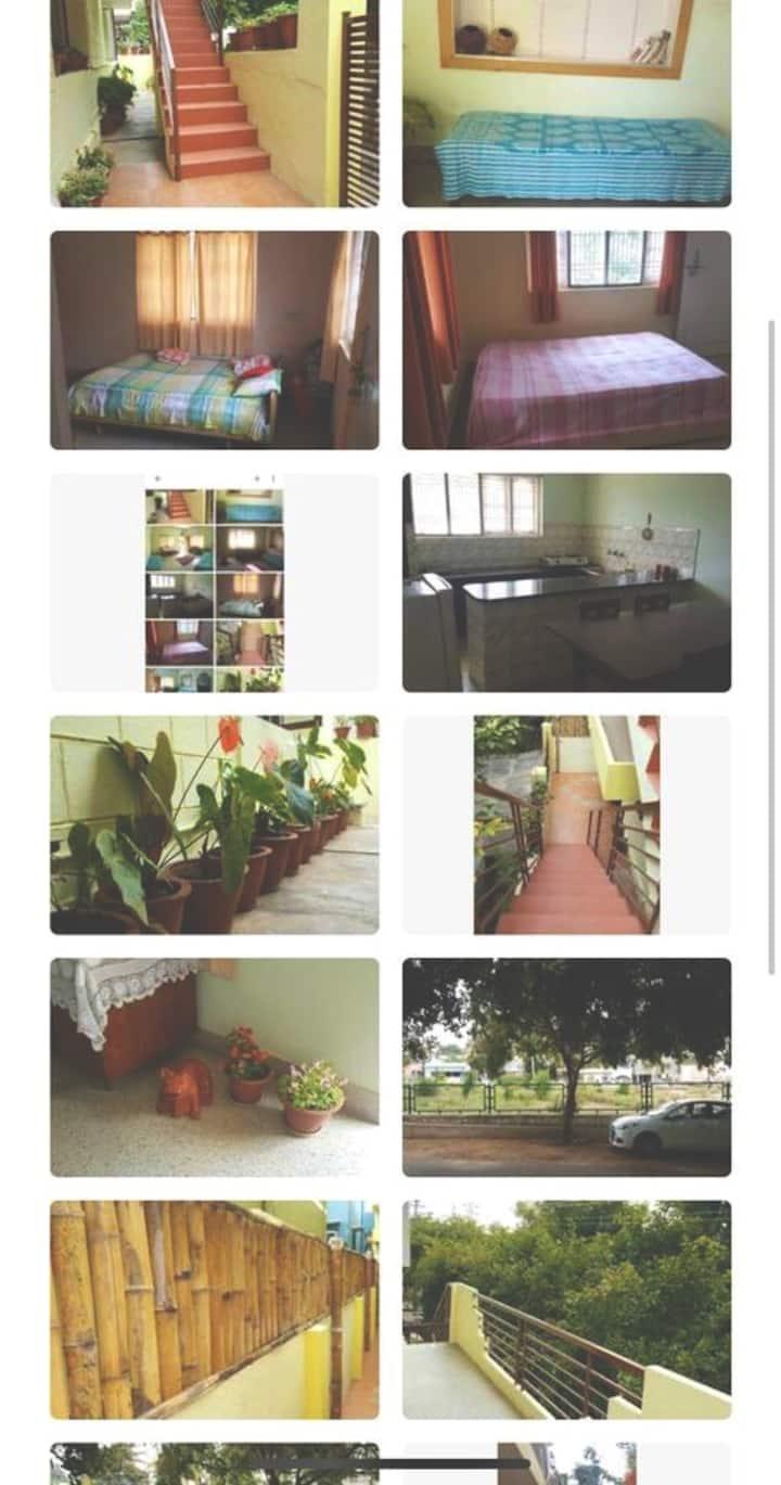 Spacious apartment -Private room in Gokulam,Mysore