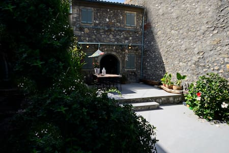 Ellie's loft, Corfu. - Sinarades