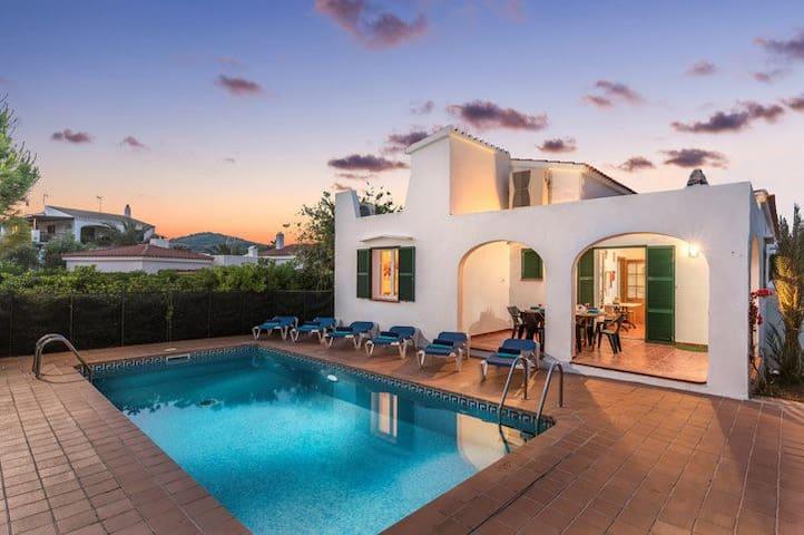 Beautiful Villa in Fornells, Es Mercadal, Menorca