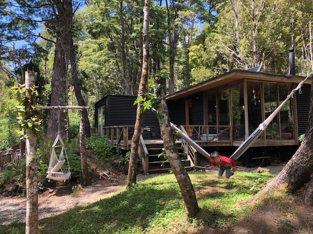 Cabañas en medio de Bosque Nativo