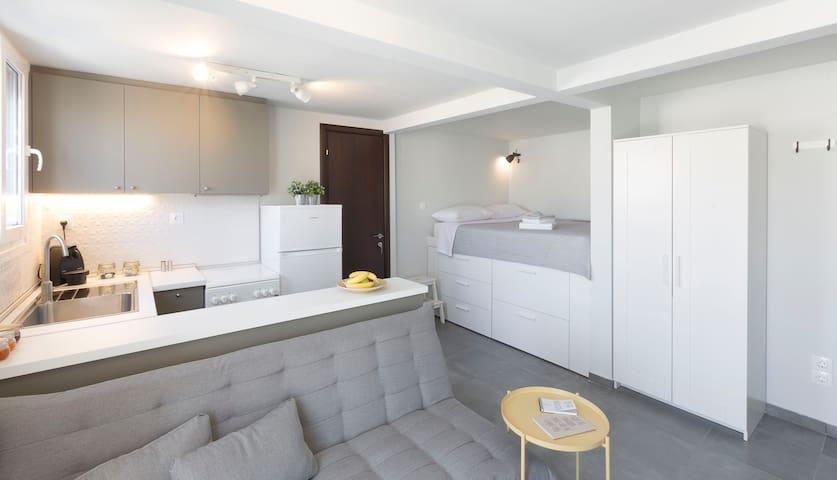 Cozy apartment with a unique view