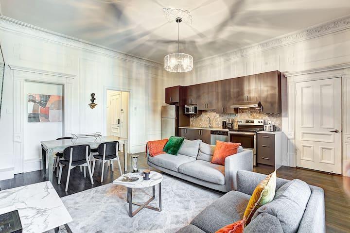 Modern French Design 3bedrooms Crescent St
