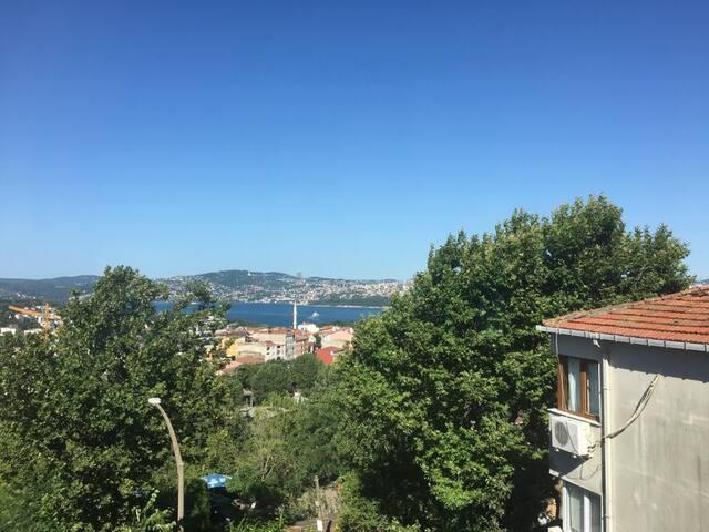 House for 6 near IstinyePark & full Bosphorus view