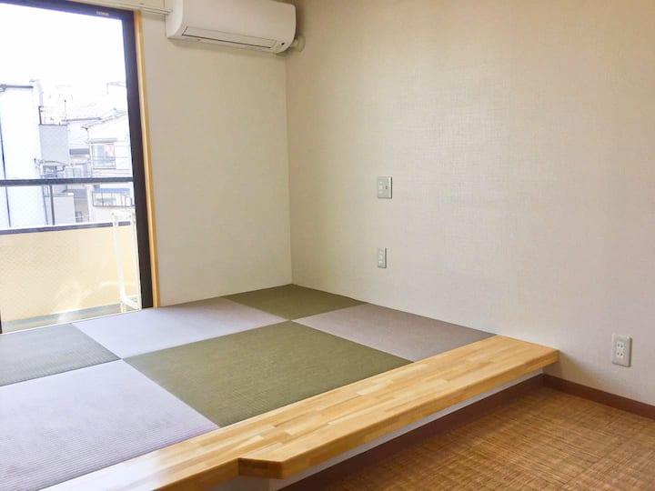 匯家・北池袋 Tatami style private bathroom 201