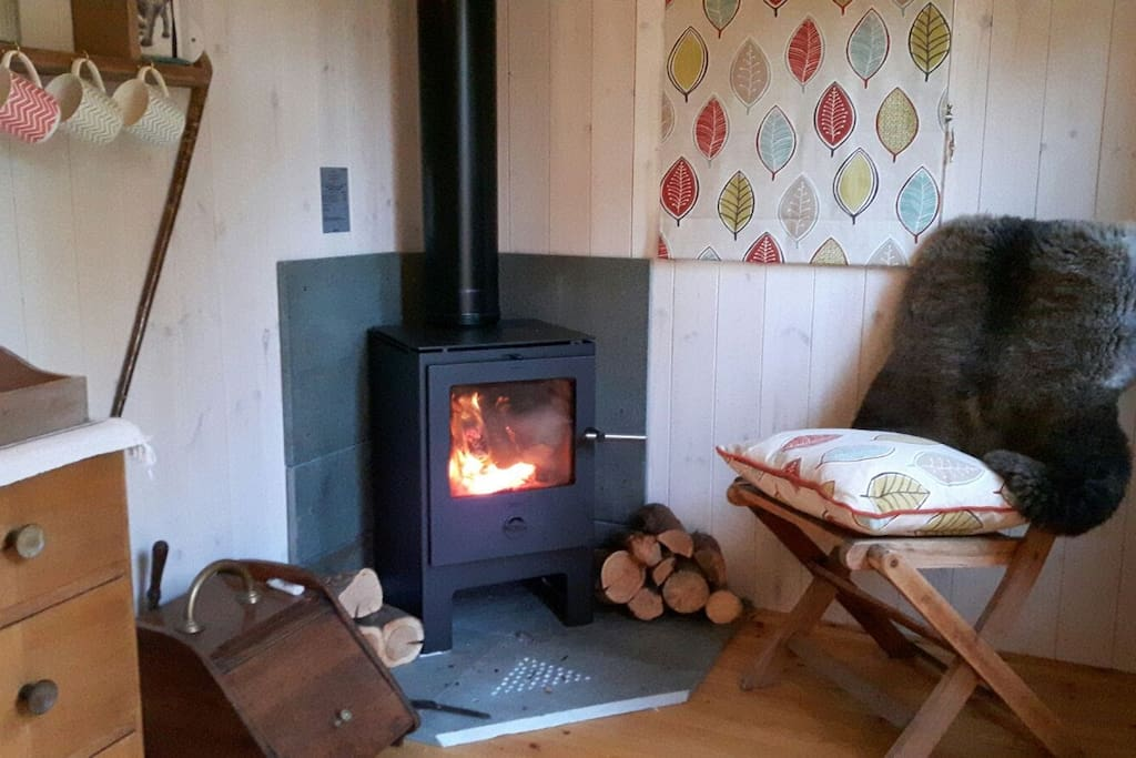 We will provide plenty of kindling and logs