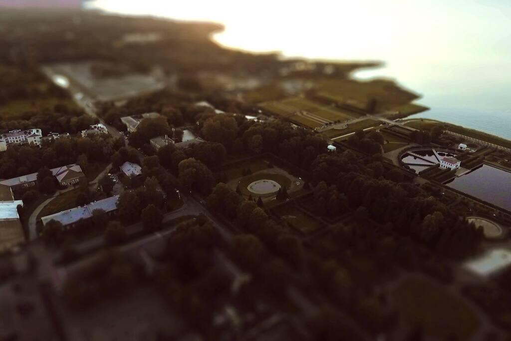 Вид на местоположение Резиденции с воздуха