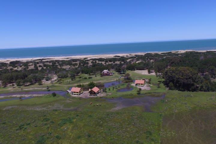 La Ranita Negra, Casa Luciole Paraiso cerca al mar