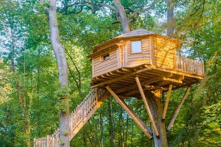 Cabane Vertige pour 2 personnes - Joncherey