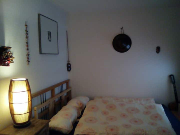 Schönes ruhiges Zimmer mit Bad und Dachterrasse