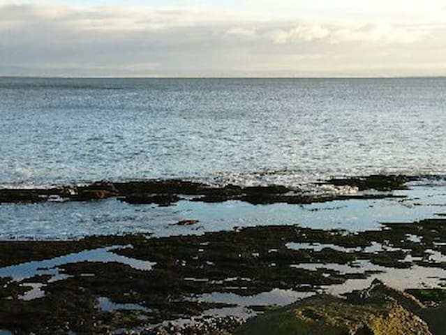 A Fife coastal apartment with sea views and walks.