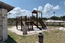 Área infantil da sede