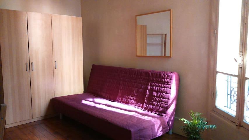 Sunny room in Paris - Paris - Apartamento