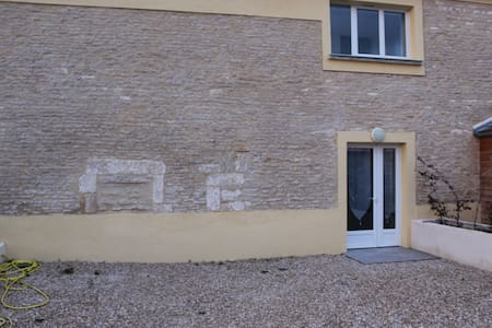 Appartement de plain pied avec cour privative.