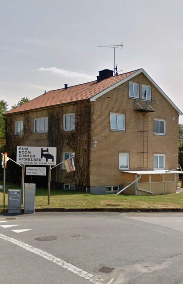 Rumsuthyrning i Vrigstad, Sävsjö kommun