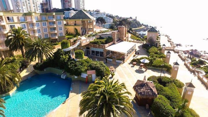 Habitación en Resort frente al Mar