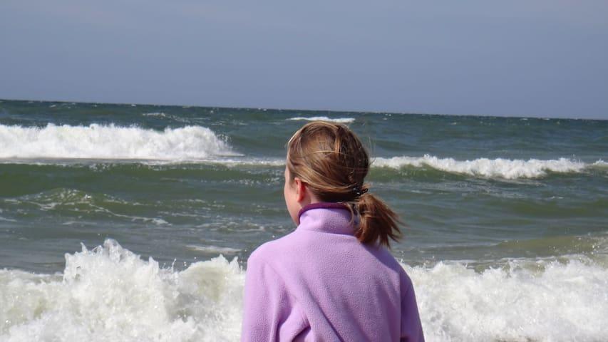 Morze Bałtyckie w Słowińskim Parku Narodowym
