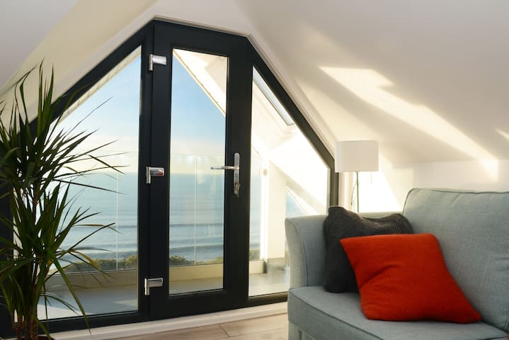 Sea Views from the Lounge