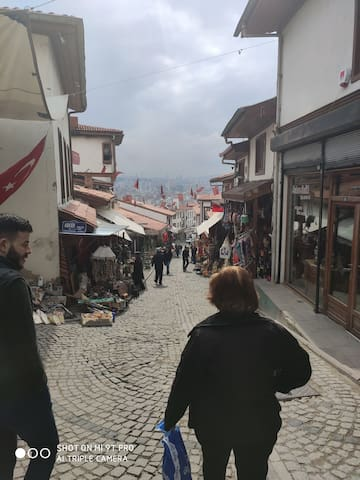 Experience a night in the old city of Ankara