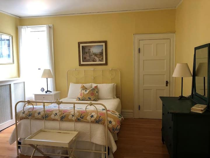 Bright & Sunny Room in Historic ADK Home