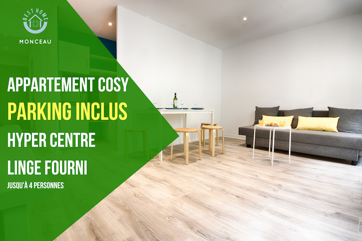 Appartement Monceau  HYPERCENTRE - PARKING INCLUS